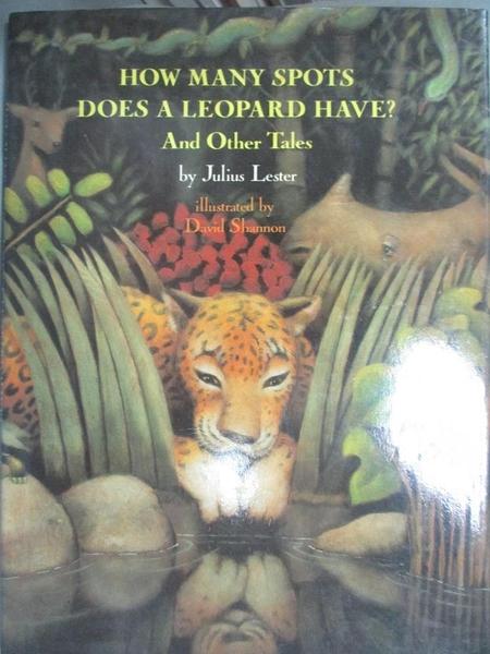 【書寶二手書T7/少年童書_YIA】How Many Spots Does a Leopard Have? and Other Tales_Julius Lester