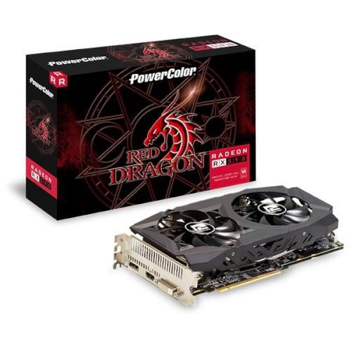 【AMD50週年登錄送全境封鎖2/末日之戰】PowerColor 撼訊 紅龍 RX 590 8GB GDDR5 顯示卡 (AXRX 590 8GBD5-DHD)