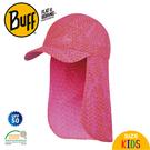 【BUFF 西班牙 童 護頸帽 粉紅甜心】120039/透氣排汗/壓舌帽/運動帽/防曬/童帽/登山