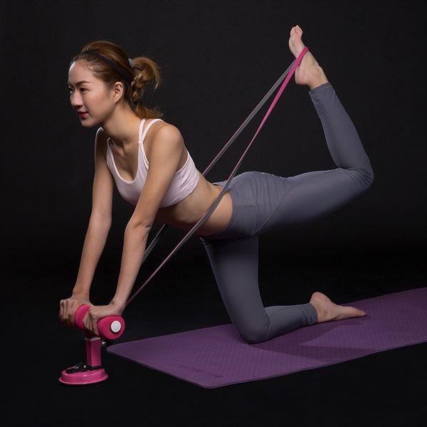 [現貨] 吸盤式仰臥起坐器 HYA9389 輔助器 馬甲線健腹器捲腹器 家用運動健身器材