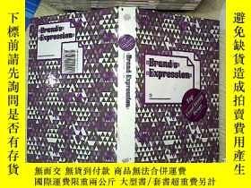 二手書博民逛書店Brand罕見expression 品牌表達Y203004