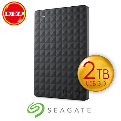 Seagate 希捷 STEA2000400 可攜式硬碟機 Expansion 2TB 容量 USB3.0 隨插即用 新黑鑽 原廠三年保固 公司貨