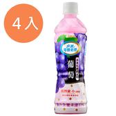 可爾必思水果乳酸菌飲料-葡萄500ml(4入)/組【康鄰超市】