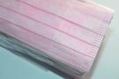 ◆台灣製罩◆傳統型平面拋棄式不織布口罩-經典粉紅(50片/包)