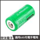 Shuoh 16340可充式鋰離子電池 400mAh (DHT16340) 1入/台灣監製/充電電池