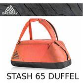 【速捷戶外】美國 GREGORY Stash Duffel 65L(秋日紅) 專業輕量多功能裝備袋.旅行袋_695004518