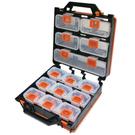 台灣製造可拆式14件組合式零件盒零件收納...