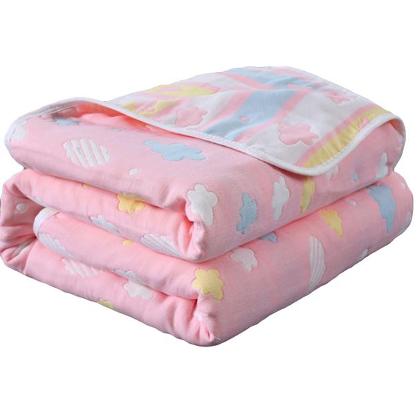六層紗布包巾 JoyNa嬰兒蓋被蓋毯-JoyBaby