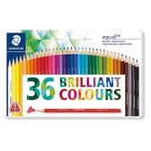 施德樓 MS157 Ergosoft全美油性色鉛筆-36色鐵盒組
