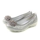 IMAC 懶人鞋 義大利製 銀色 女鞋 厚底 30628072129018 no828