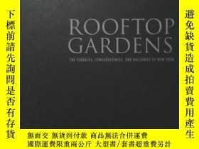 二手書博民逛書店Rooftop罕見Gardens: The Terraces C