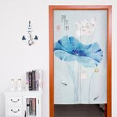 田園布簾臥室客廳裝飾門簾廚房衛生間廁所掛簾 AW14587『紅袖伊人』