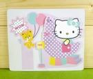 【震撼精品百貨】Hello Kitty 凱蒂貓~卡片-氣球(M)