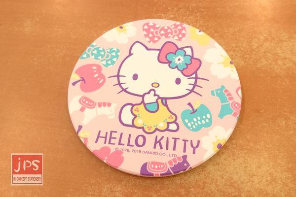 Hello Kitty 凱蒂貓 吸水杯墊 滿版 KT67042