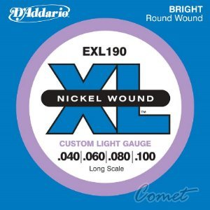 【小新的樂器館】 美國D'Addario EXL190 貝斯弦(40~100)