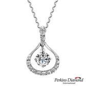 GIA鑽石項鍊 PERKINS 伯金仕 Royal 系列 0.30克拉鑽石項鍊