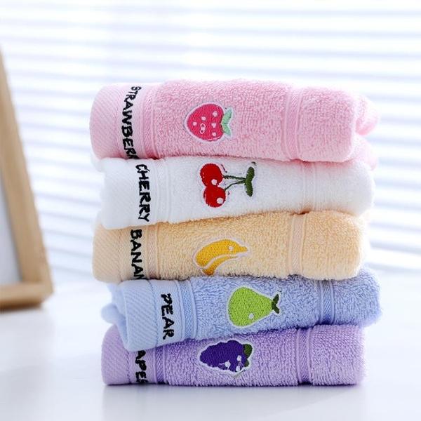 兒童毛巾洗臉純棉軟吸水家用
