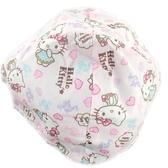 小禮堂 Hello Kitty 安全帽內襯 安全帽墊 帽套 (粉 愛心) 5712977-46622
