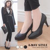 婚鞋-MIT優雅風情金蔥尖頭高跟鞋