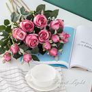 假花 仿真花保加利亞玫瑰花 歐式裝飾拍攝...
