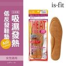 BONJOUR日本製is-fit 吸濕發熱低反發氣墊鞋墊(女性適用) E.【ZS578-9S1】I.
