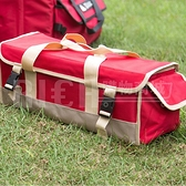 【Selpa】戶外大容量地釘包 野營工具包 帳篷釘錘子收納包 多功能雜物工具箱