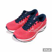 MIZUNO 女 慢跑鞋 WAVE RIDER 25 WIDE 一般型 超寬楦 中底 避震-J1GD210601