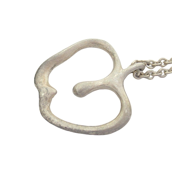 Tiffany & Co 蒂芬妮 簍空蘋果造型墜飾925純銀項鍊 【二手名牌BRAND OFF】