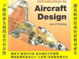 二手書博民逛書店Introduction罕見To Aircraft DesignY307751 Fielding Cambri