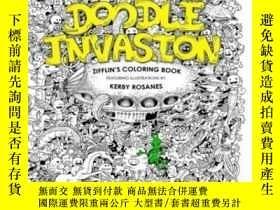二手書博民逛書店Doodle罕見Invasion: Zifflin s Coloring BookY364682 Ziffli
