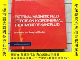 二手書博民逛書店External罕見Magnetic Field Effects on Hydroth... Y268220
