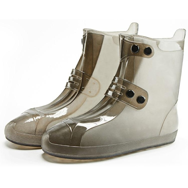 鞋套 防水雨天防滑加厚耐磨成人雨鞋套男女防雨下雨硅膠鞋套雨靴套 莎瓦迪卡