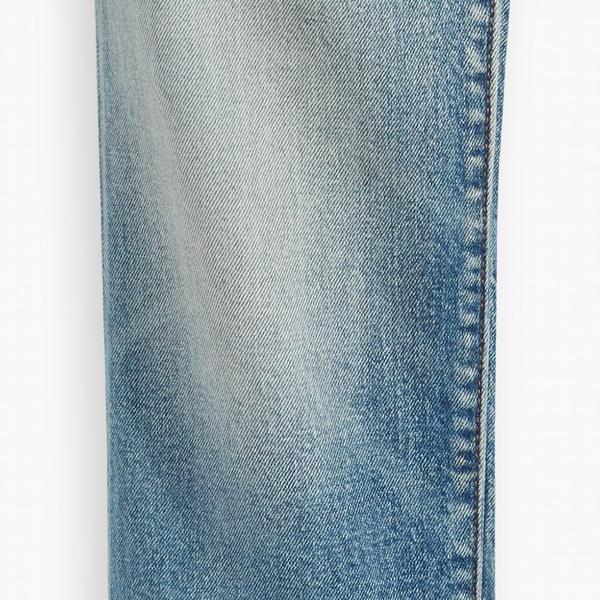 Levis 男款 511低腰修身窄管牛仔褲 / 精工刷白水洗工藝 / 赤耳 / 彈性布料