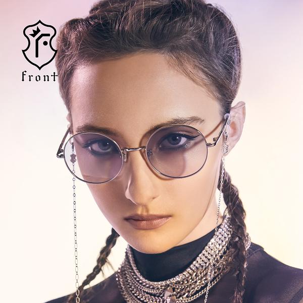 【Front 太陽眼鏡】Rise-四色可挑選(#復古圓框款太陽眼鏡/墨鏡)