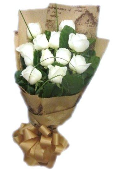 (YF-05)北縣永和市花店情人節花束花禮不漲價純情白玫瑰花束只要799元今日下單~明日送達