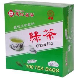 [奇奇文具] 【天仁茗茶 綠茶】 天仁 綠茶袋茶/綠茶 (防潮包)2gx100包