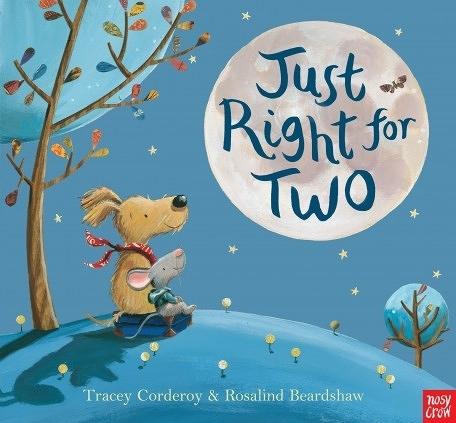 『線上聽.手上讀』JUST RIGHT FOR TWO /英文繪本 (免費線上聽故事) 《主題:友誼.品格教育》