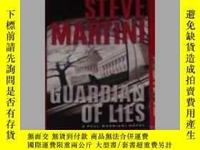 二手書博民逛書店英文原版罕見Guardian of Lies by Steve