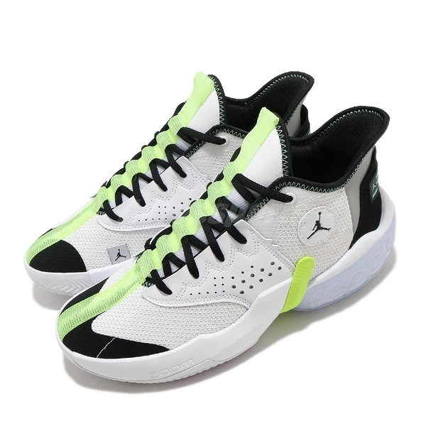 Nike 籃球鞋 Jordan React Elevation PF 白 黃 男鞋 運動鞋 喬丹 D77 【ACS】 CK6617-103