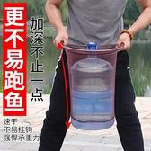 釣魚抄網伸縮撈魚網兜素抄網桿超硬超輕組合套裝【探索者】