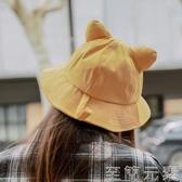漁夫帽子女夏季日系百搭網紅ins防曬遮陽帽可愛軟妹嬰韓版潮 至簡元素