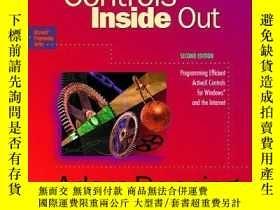二手書博民逛書店Activex罕見Controls Inside Out, With CdY255562 Adam Denni