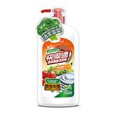 快潔適蔬果碗盤洗潔精-清新甜橙1000gm