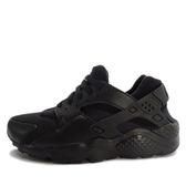 Nike Huarache Run GS [654275-016] 童鞋 慢跑 運動 休閒 黑 黑