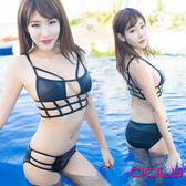 情趣商品 角色扮演 cosplay 虐戀精品CICILY 魅力四射 性感裹胸 兩件式 泳衣泳裝cos死庫水
