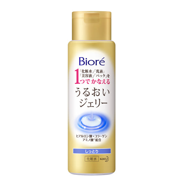 Biore水面膜化粧露滋潤型180ML【康是美】