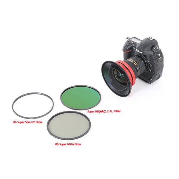 ◎相機專家◎ Marsace DP-N1424+UV+CPL+ND16 Nikon 14-24mm 專用濾鏡組