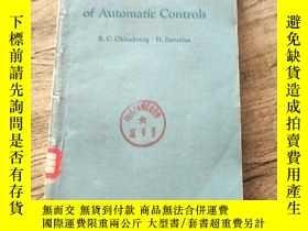 二手書博民逛書店The罕見Dynamics of Automatic Contr