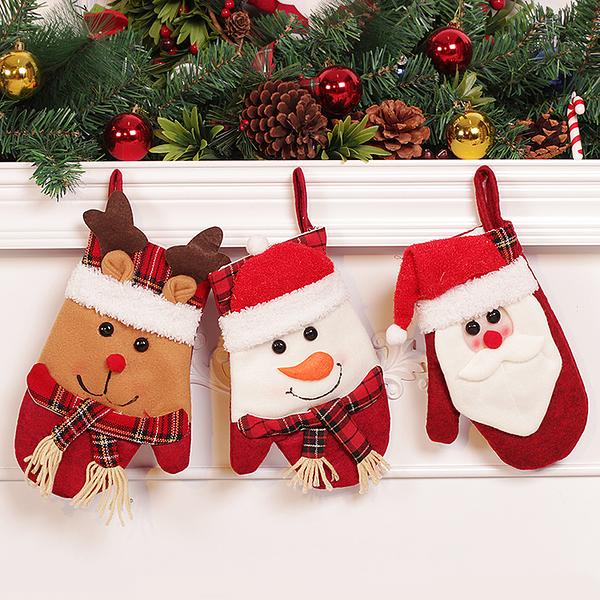 聖誕禮品37  聖誕樹裝飾品 禮品派對 裝飾 聖誕襪 禮物袋