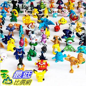 [美國直購] 神奇寶貝 精靈寶可夢周邊 CNFT Pokemon Action Figures, 144-Piece, 2-3 cm (144 Piece, All) B01KAV2UNS